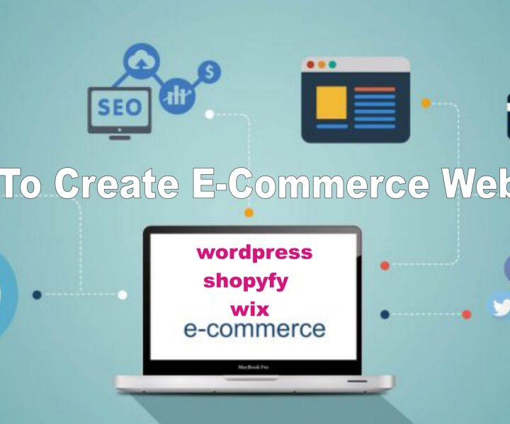 How to Create an E-commerce Website Step by Step
